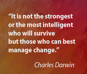 Change Quote from Darwin