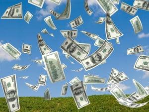MoneyFalling